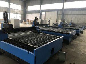 pllaka metalike fletë metalike cnc prestar plazma / makinë prerëse plazma 1325 për çelik inox