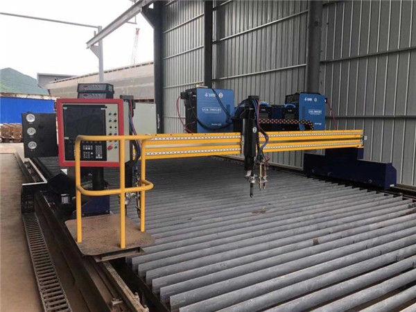 Makinë prerëse plazma CNC me madhësi të madhe CNC
