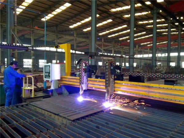 Makinë prerëse plazma CNC Gantry CNC dhe makinë prerëse flakë për pllaka çeliku