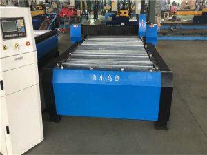Makinë për prerje plazma metalike me pllaka tubi cnc të rëndë për ciklon çeliku inox
