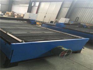 Shitja e nxehtë e fletës metalike që prerë çelikin e karbonit prej çeliku të pandryshkshëm 100 A cnc plazma CNC 120 makine për prerje plazma