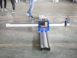mikro fillestare e teknologjisë së re prerëse metalike CNC / makineri portative për prerje plazma