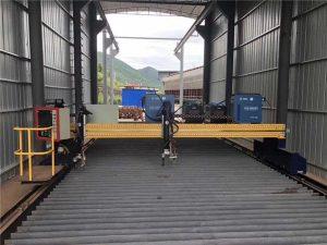 Makinë prerëse e plazmës CNC precize 13000 mm e saktë me Servo Motor