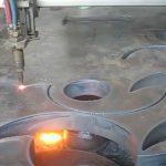 ce Miratuar pëlhurë pishtari prerëse flakë CNC makineri prerës plazma në fabrikën e Kinës