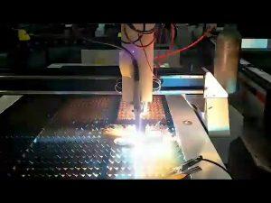 kosto të ulët pllaka çeliku prestar çeliku CNC makinë e vogël për prerje plazma
