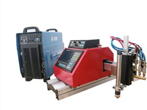 plazma portative cnc, gazi, flaka, makina për prerjen e fletë metalike oksigjen me THC